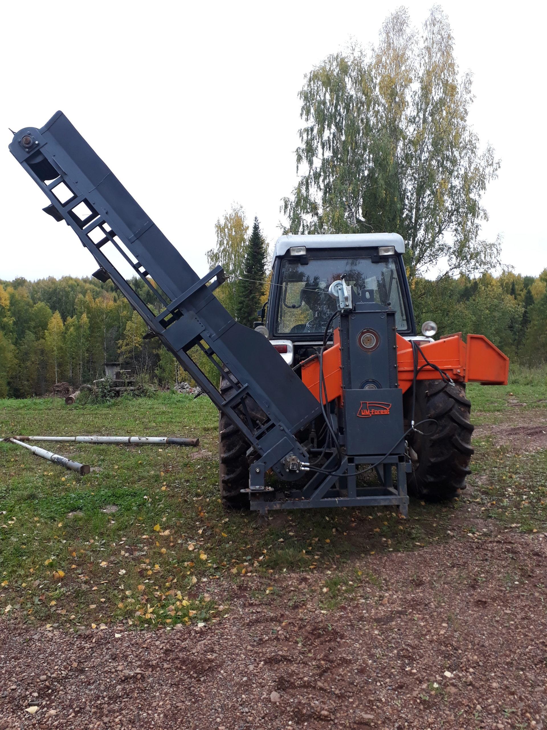 Рубильные машины для заготовки дров