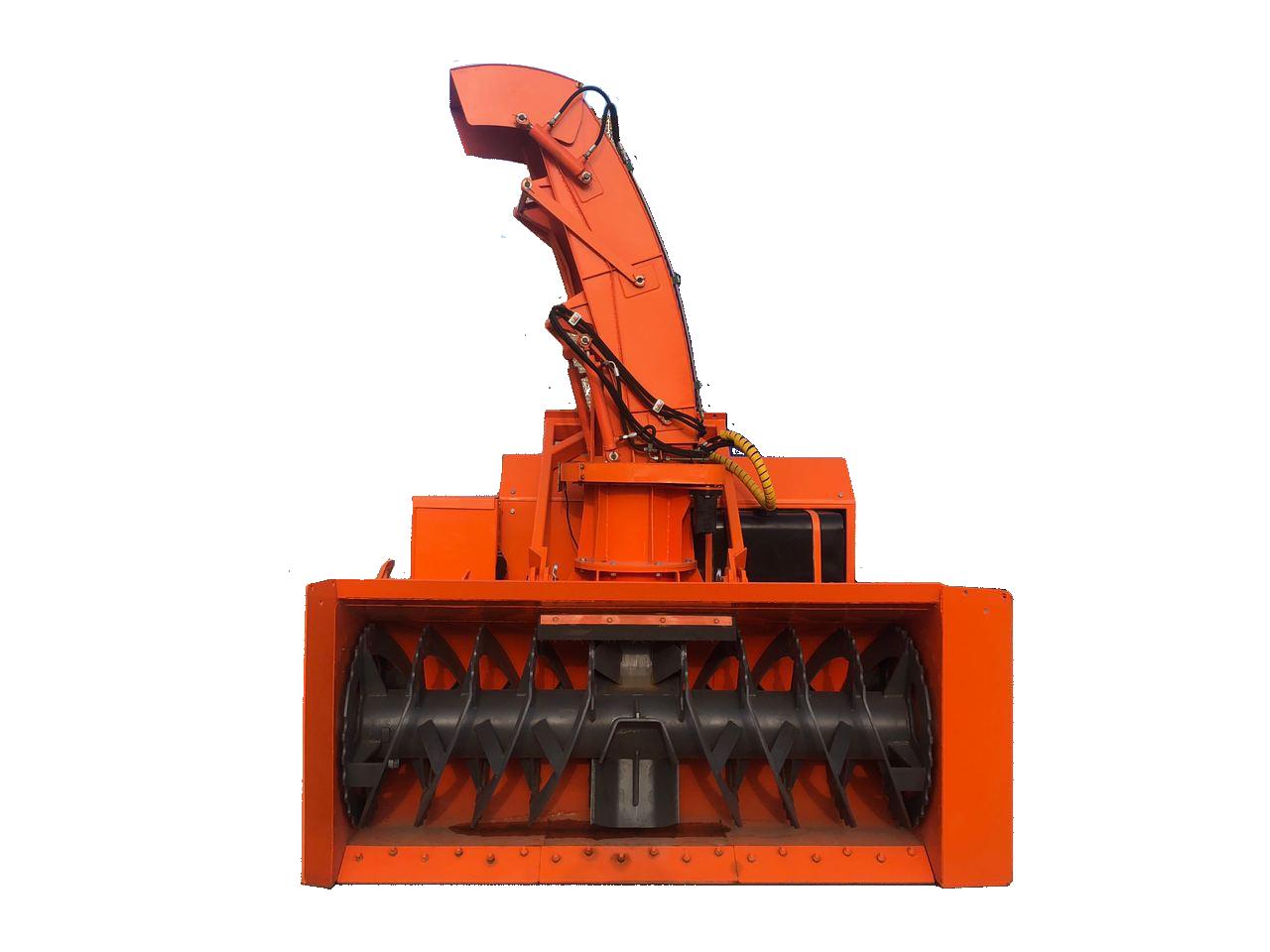 Шнекоротор с автономным двигателем