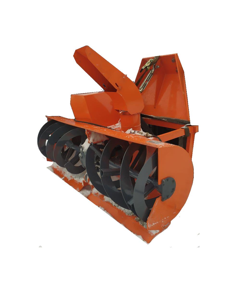 Шнекоротор с электроприводом для козловых кранов